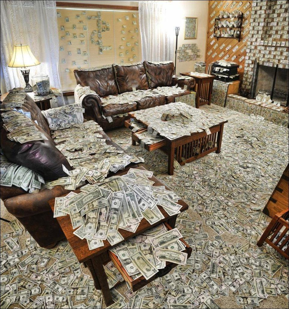 Как сделать чтоб в доме были деньги