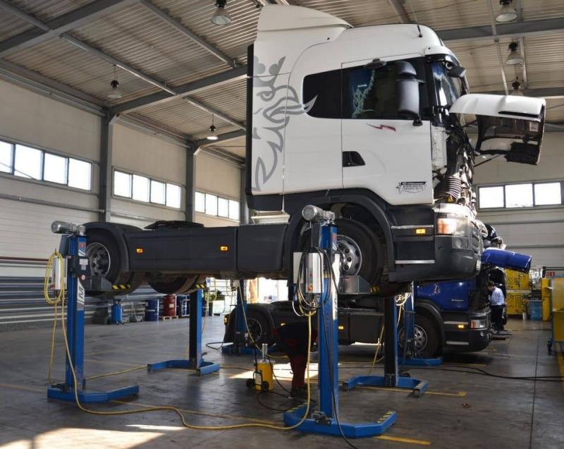 Грузовой автосервис - ремонт грузовиков и прицепов